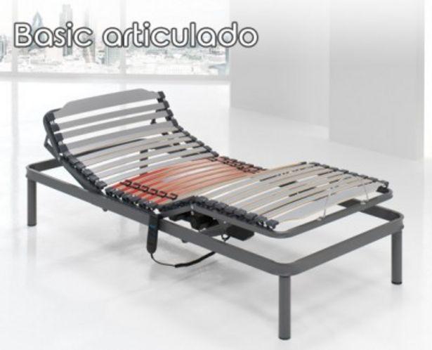 Oferta de Somier artículado Basic de HOME por 399,99€