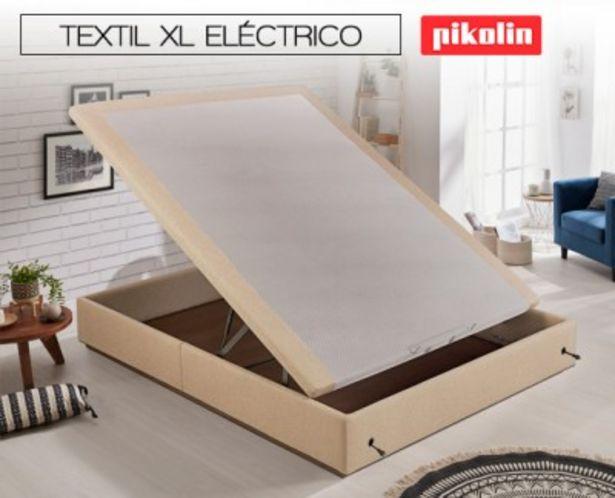 Oferta de Canapé abatible Textil XL Eléctrico de Pikolin por 1346,99€