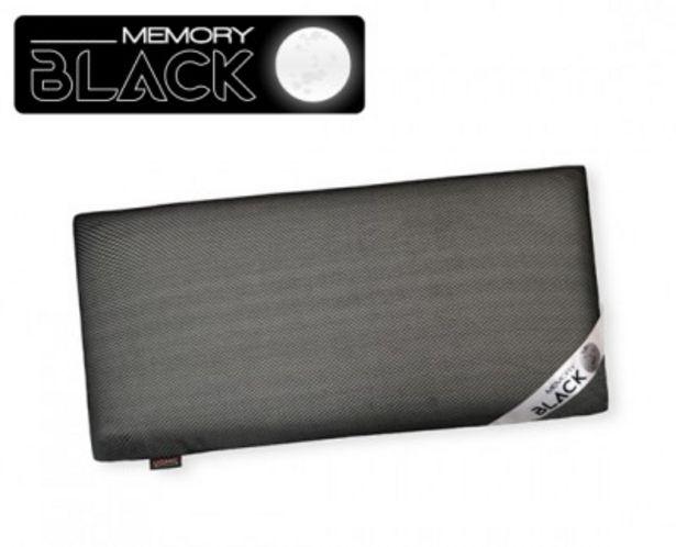 Oferta de Almohada viscoelástica Memory Black por 21,99€