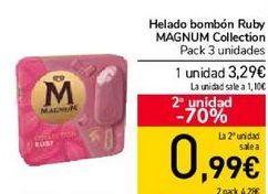 Oferta de Helado bombón Ruby MAGNUM Collection por 3,29€