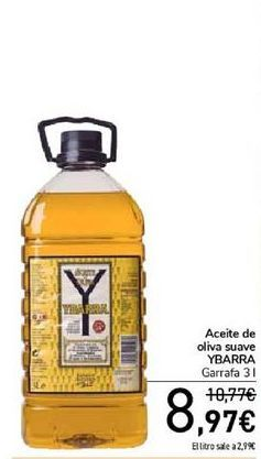 Oferta de Aceite de oliva suave YBARRA por 8,97€