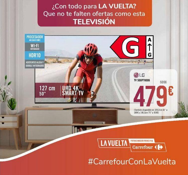 Oferta de TV 50UP78006 LG por 479€