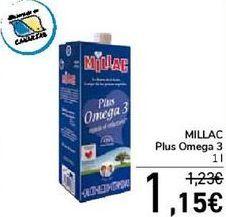 Oferta de MILLAC Plus  Omega 3  por 1,15€