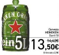 Oferta de Cerveza HEINEKEN  por 13,5€