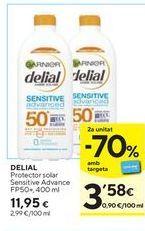Oferta de Protector solar Delial por 11,95€