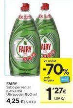 Oferta de Jabón Fairy por 4,25€