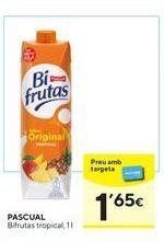 Oferta de Zumo de frutas Pascual por 1,65€