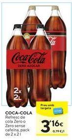 Oferta de Refrescos Coca-Cola por 3,16€