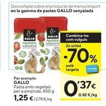 Oferta de Pasta Gallo por 1,25€