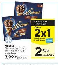 Oferta de Cornetto Nestlé por 3,99€