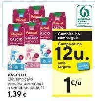 Oferta de Leche Pascual por 1,39€