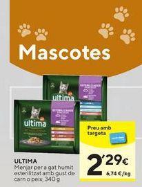 Oferta de Comida para gatos Última por 2,29€
