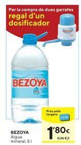 Oferta de Agua Bezoya por 1,8€