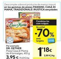 Oferta de Pizza cuatro quesos Dr Oetker por 3,95€