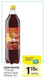 Oferta de Vino tinto Don Simón por 1,15€