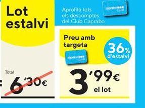 Oferta de Pasta por 3,99€
