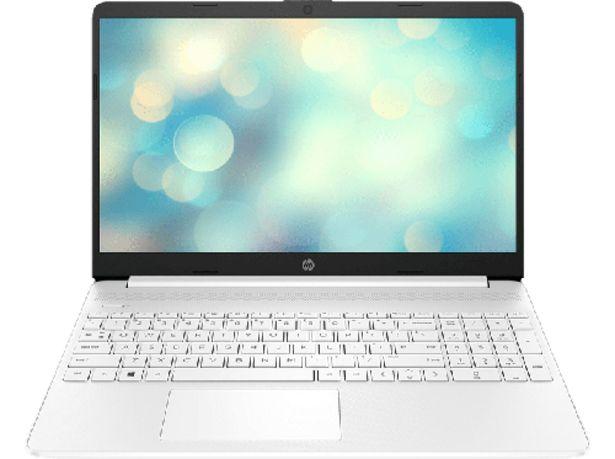 """Oferta de HP Laptop 15s-eq1076ns, 15.6"""" HD, AMD 3020e, 8GB RAM, 256GB SSD, Radeon™ Graphics, Windows 10, Blanco por 299€"""