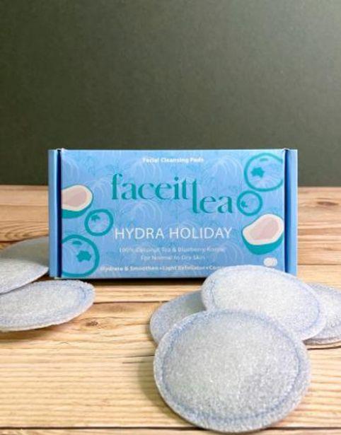 Oferta de Infusión facial konjac - Piel seca - Faceittea por 9€