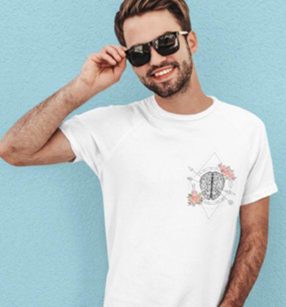 Oferta de Camiseta H Cerebro Brújula por 19€