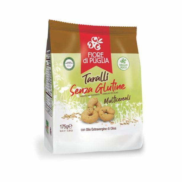Oferta de Taralli sin gluten Fiore di Puglia 175gr por 2,9€