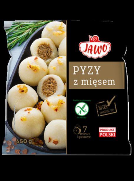 Oferta de Pyzy con carne sin gluten Jawo 450gr  por 3,5€