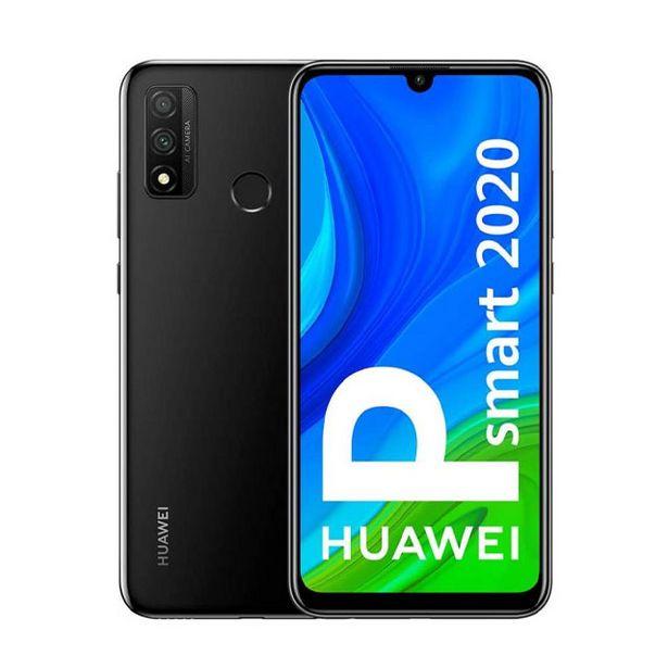 Oferta de Móvil HUAWEI P SMART 2020 128GB 4GB NEGRO por 175€