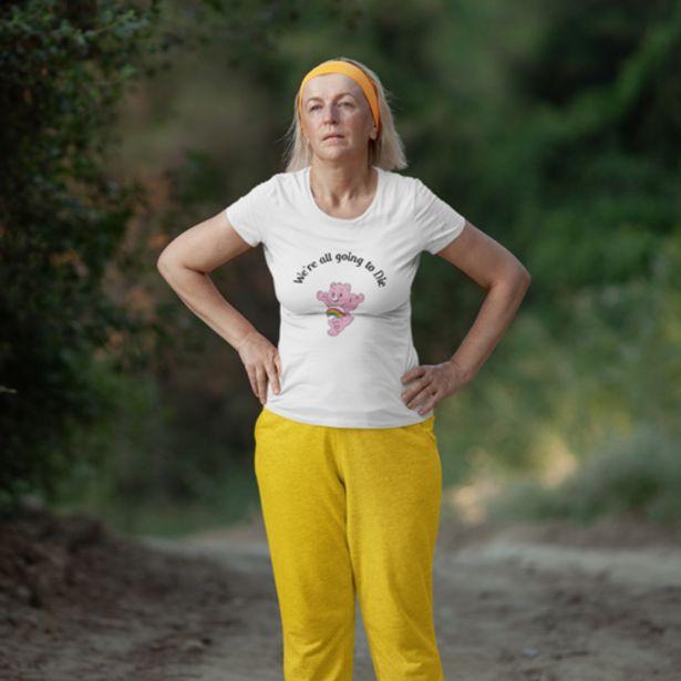 Oferta de Camiseta M Blanca We're going to die por 19€