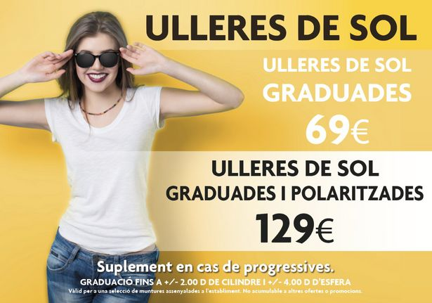 Oferta de Ulleres de sol graduades por 69€