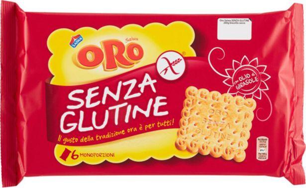 Oferta de Oro sin gluten Saiwa 200gr por 2,9€