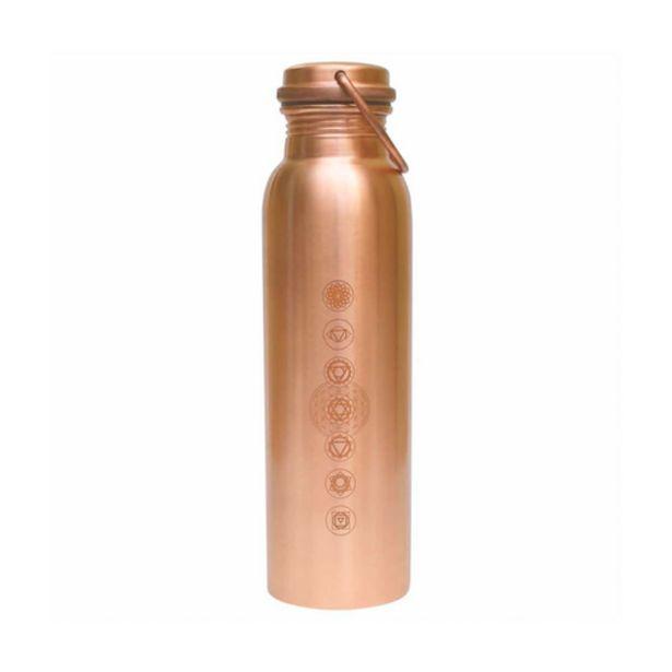 Oferta de Botella de cobre para agua Ayurveda - Cero Residuo por 25€