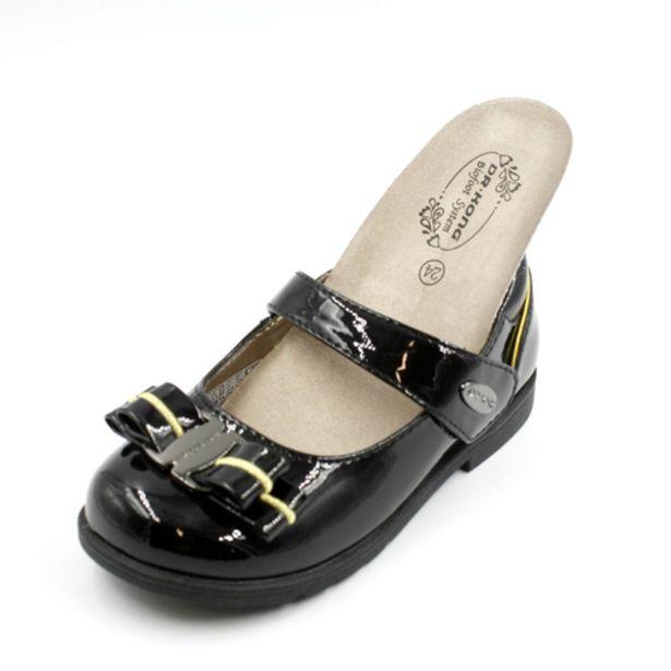 Oferta de Dr Kong Zapato Niña de Charol con lazo Oxford por 39,96€