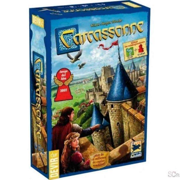 Oferta de Juego de mesa devir carcassonne por 30,41€