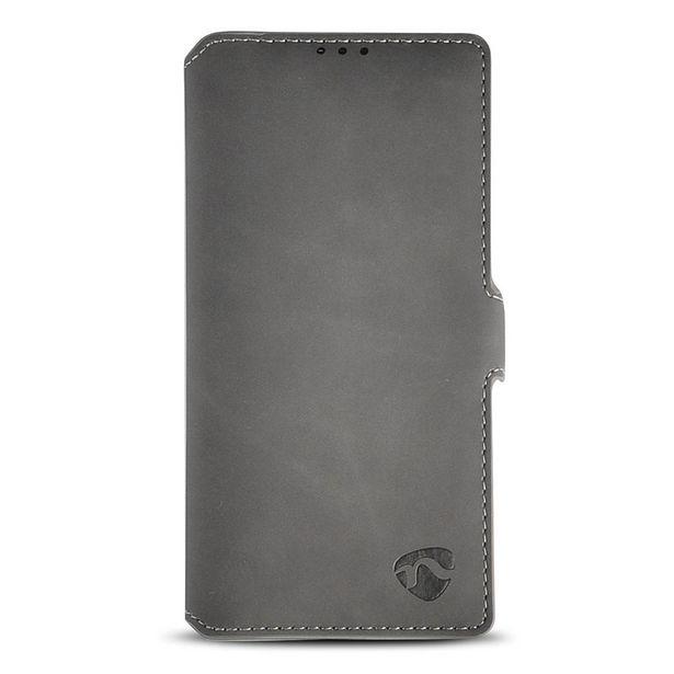 Oferta de Funda Suave Abatible con Tarjetero para Samsung Galaxy Note 10 | Negra por 14,22€