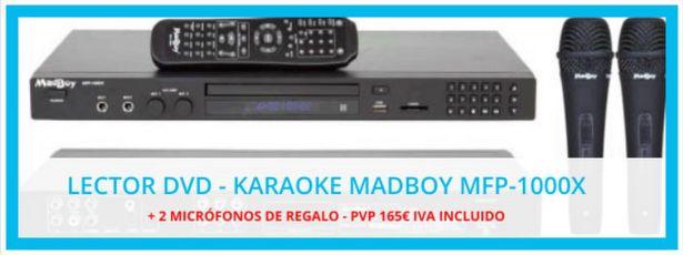 Oferta de Equipos Audiovisuales de Karaoke   Audiovisuales Mister Mix por 165€