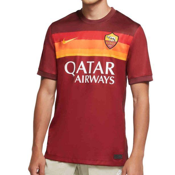 Oferta de Camiseta Nike AS Roma 2020 2021 Stadium granate, talla S por 63,99€