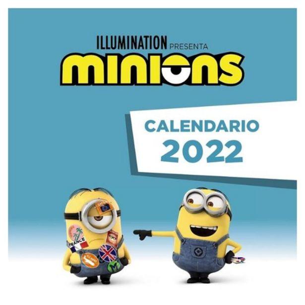 Oferta de Calendario de los Minions 2022 por 8€