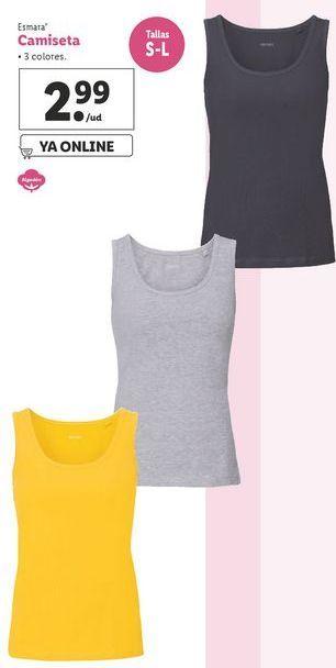 Oferta de Camiseta de deporte esmara por 2,99€