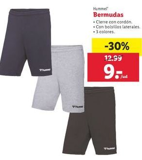 Oferta de Bermudas por 9€