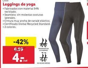 Oferta de Leggings de yoga Crivit por 4€
