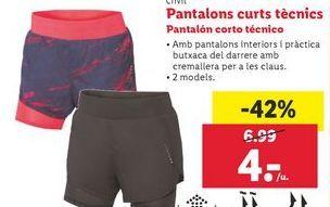 Oferta de Pantalones Corto por 4€