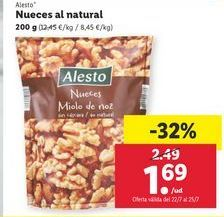 Oferta de Nueces Alesto por 1,69€
