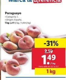 Oferta de Paraguayo por 1,49€