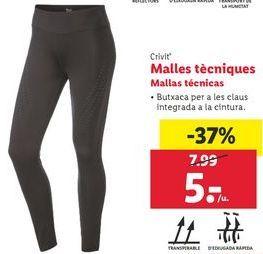Oferta de Mallas Crivit por 5€