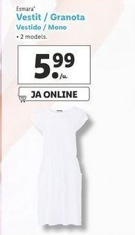 Oferta de Vestidos esmara por 5,99€