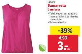 Oferta de Camiseta esmara por 3€
