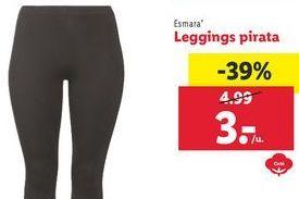 Oferta de Leggins esmara por 3€