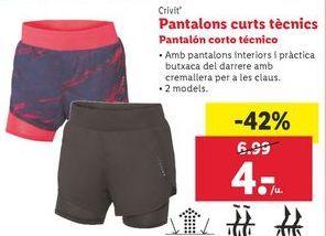 Oferta de Pantalones cortos Crivit Beach por 4€