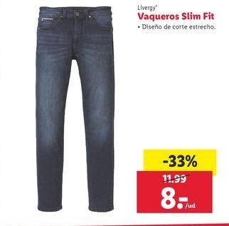 Oferta de Vaqueros Livergy por 8€