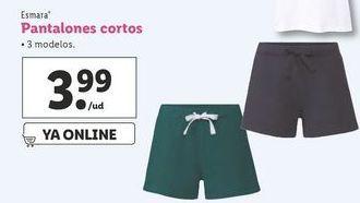 Oferta de Pantalones cortos esmara por 3,99€