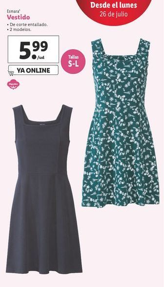 Oferta de Vestido Esmara por 5,99€
